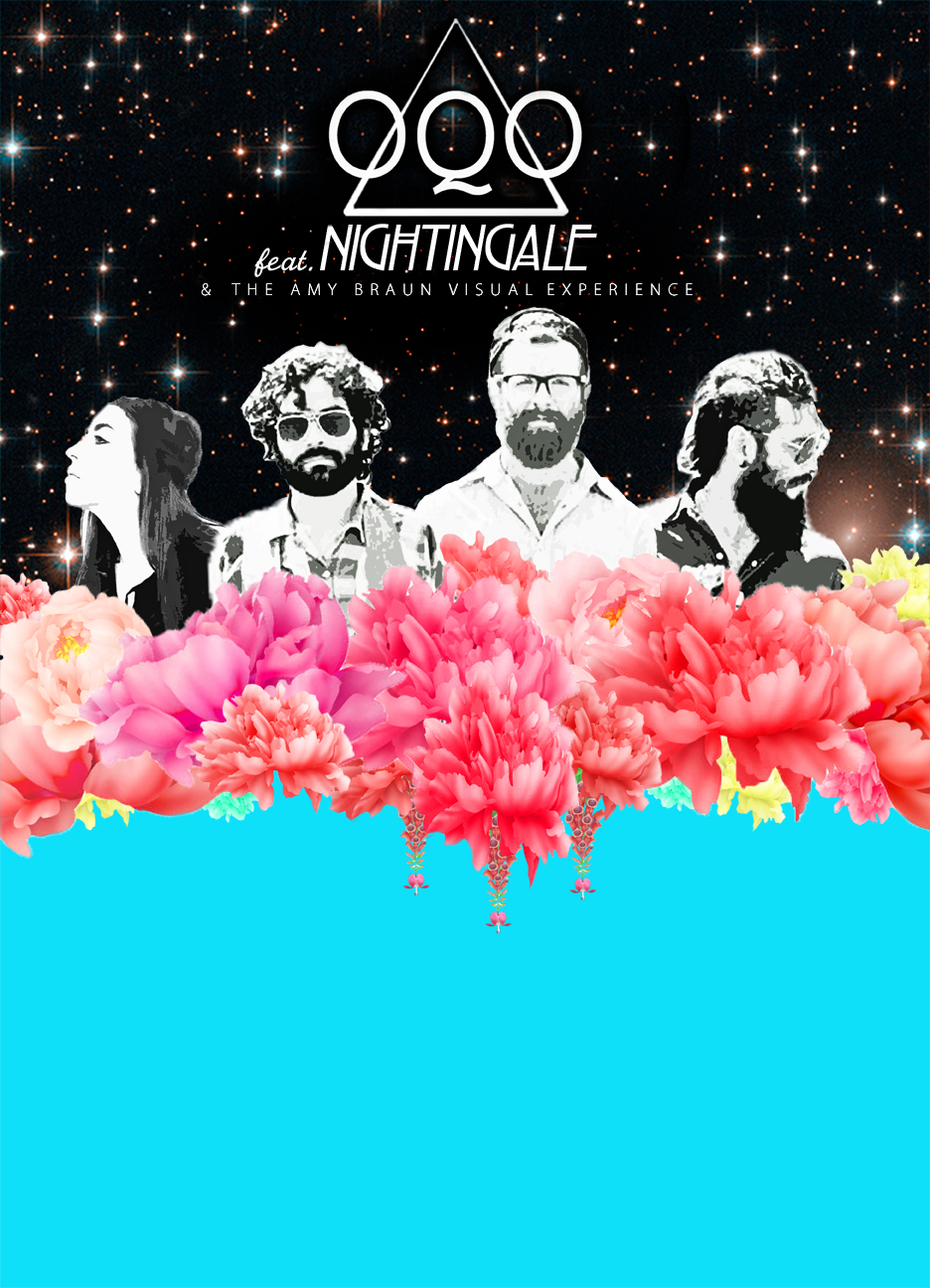 OQO NIGHTINGALE SPRING TOUR POSTER